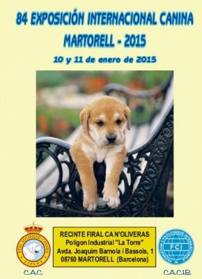 84 EXPOSICIÓN INTERNACIONAL CANINA BARCELONA 2015