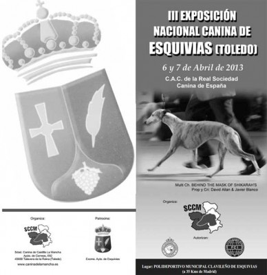 EXPOSICIÓN NACIONAL CANINA DE ESQUIVIAS  2013