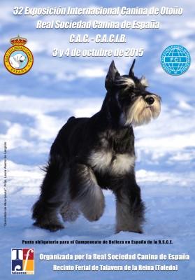 Exposición Internacional Canina de Otoño Talavera 2015