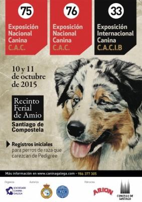 Exposición Nacional Internacional Canina Santiago de Compostela 2015